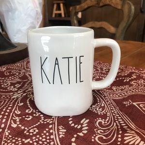 Brand new Rae Dunn KATIE Mug